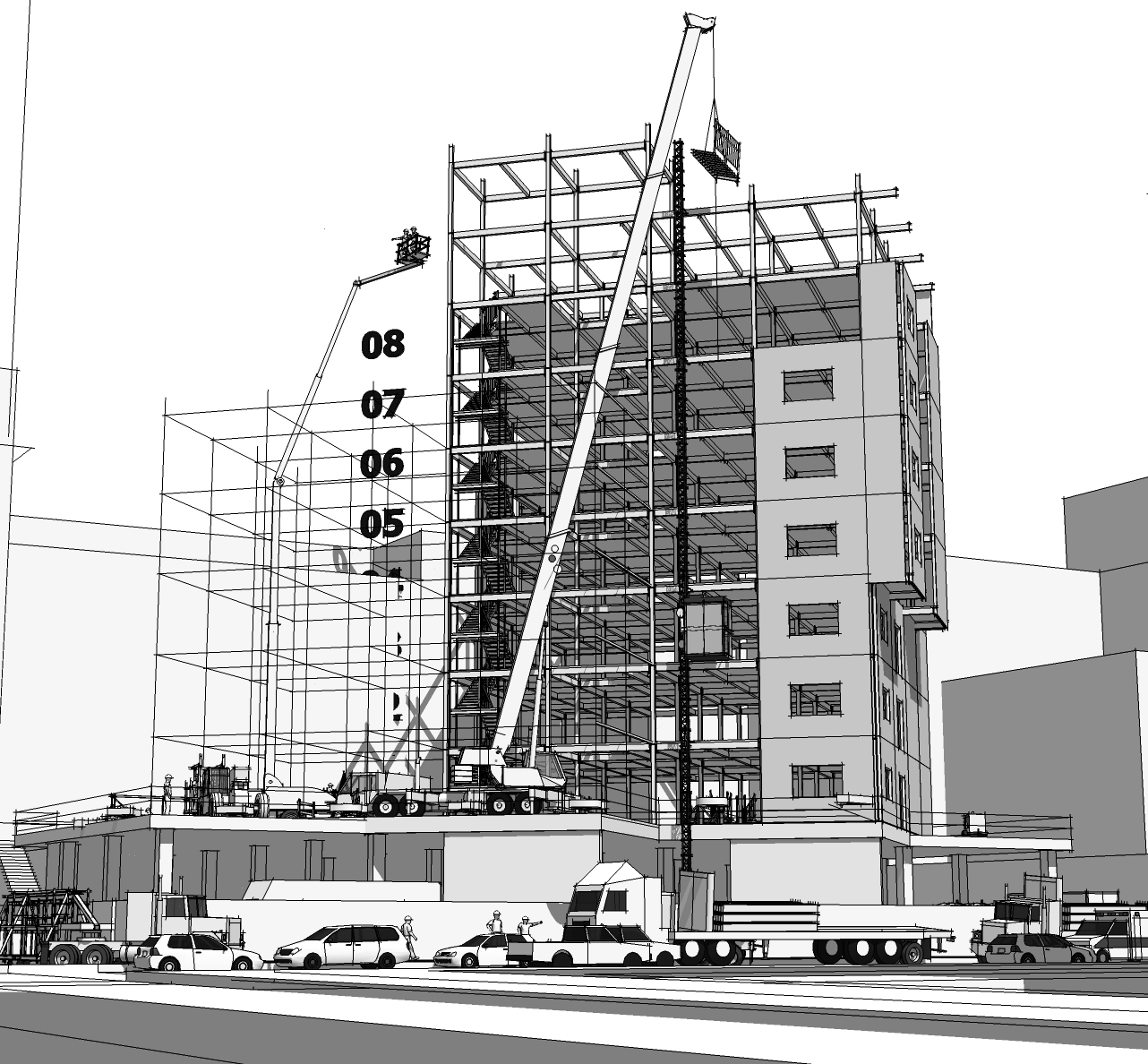 3d Construction Modeling Rethinking 3d As A Process Document