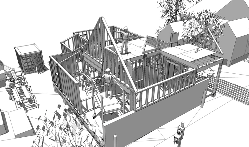 Hands on construction 101 syllabus 3d construction modeling for House framing 101
